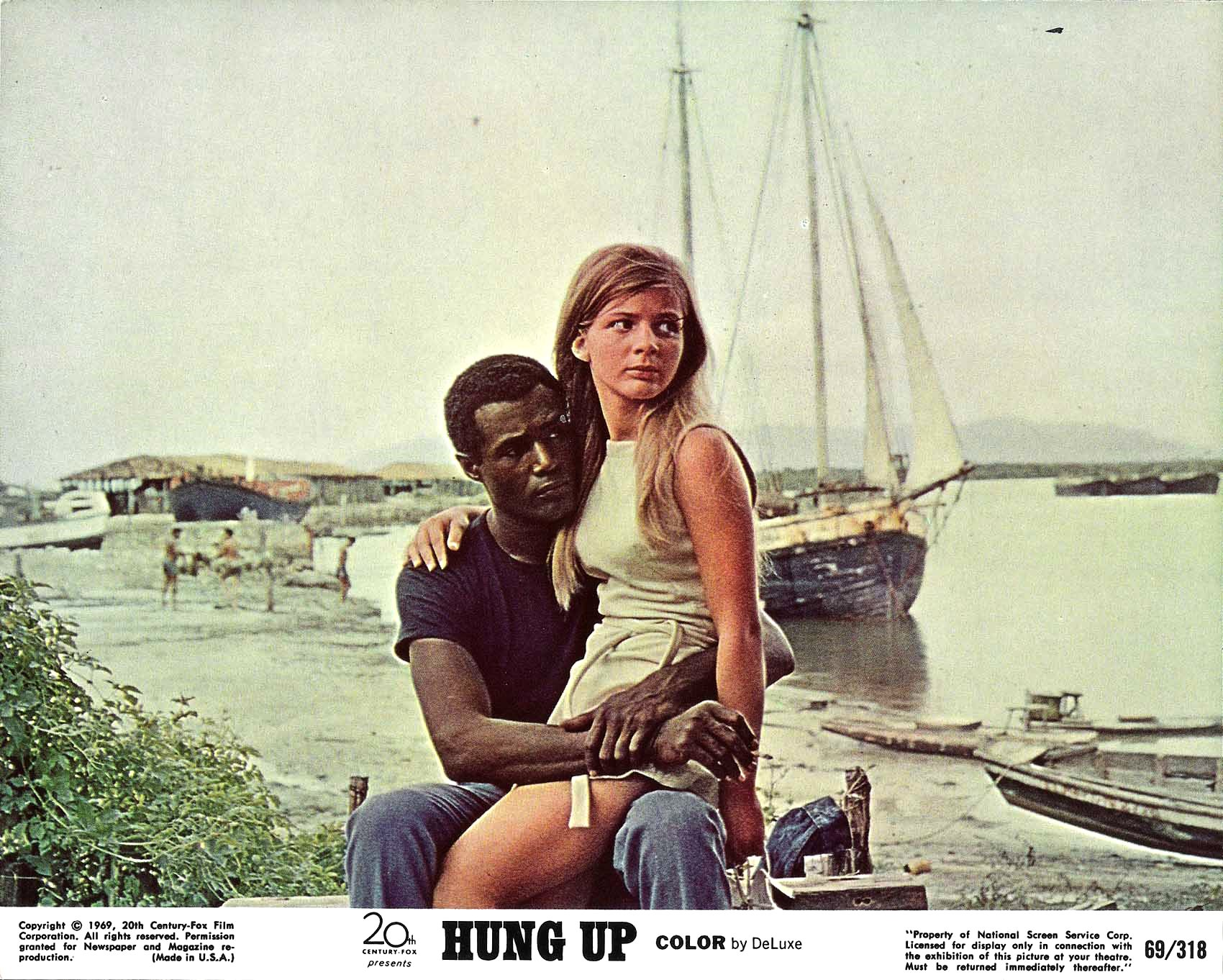 Patricia gozzi calvin lockhart in hung up original for Gozzi arredamenti ebay